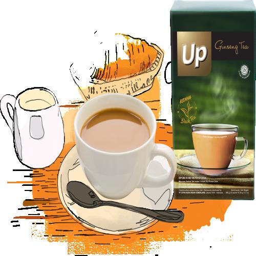 UP TEA GINSENG TEA