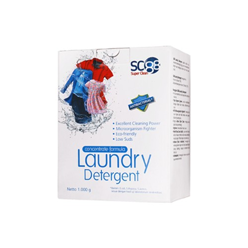 SC88 LAUNDRY DETERGENT 1 KG