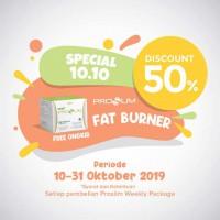 PROSLIM WEEKLY PACKAGE GET DISC 50% FAT BURNER
